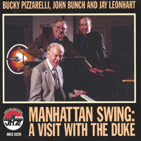 Jay Leonhart, Bucky Pizzarelli, and John Bunch | A Visit With The Duke