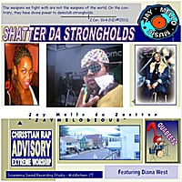 Jaymelodious | Shatter da Strongholdz (feat. Diana West)