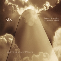 Jim Cole & Spectral Voices | Sky - Overtone Singing in a Water Tower