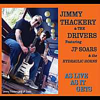 Jimmy Thackery | As Live As It Gets-Double Disc