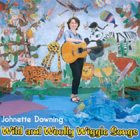 Johnette Downing | Wild And Woolly Wiggle Songs