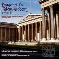 John Feeney and the Loma Mar Quartet | Dragonetti's New Academy, Vol. ll