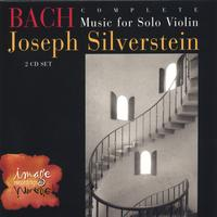Joseph Silverstein | BACH: Complete Music for Solo Violin (2-CD set)