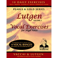 Judy Clark | Lutgen Vocal Exercises for High Voice, Vol. 2