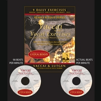 Judy Clark | Vaccai Voice Exercises, Vol. Two:  For Low, Medium & Mezzo Soprano voices