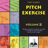 Judy Clark | Pitch Exercise Book and CD Set, Volume 2