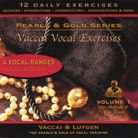 Judy Clark | Vaccai Vocal Exercise Set:  For Low, Medium & Mezzo Soprano Voices, Vol. 1