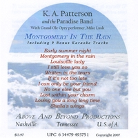 K. A. Patterson and the Paradise Band | Montgomery In The Rain
