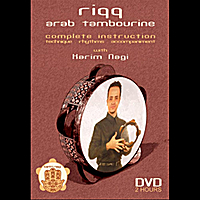 Karim Nagi | Riqq, Arab Tambourine Dvd Instruction