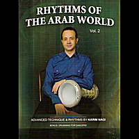 Karim Nagi | Rhythms of the Arab World, Vol. 2 Advanced Drumming Technique