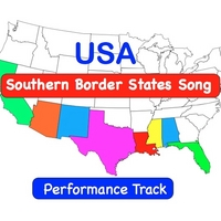 Kathy Troxel | USA Southern Border States Song  (Performance Track)