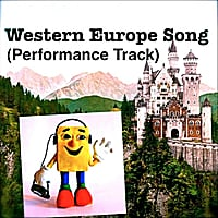 Kathy Troxel | Western Europe Song (Performance Track)