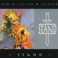 Ken McLellan and Stigger Stand