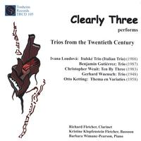 Clearly Three Wind Trio | Clearly Three performs Trios from the 20th Century