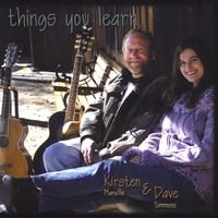 CD Cover Things You Learn Dave Simmons and Kirsten Manville