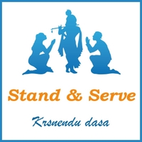 Krsnendu Dasa | Stand and Serve