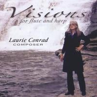 Laurie Conrad | Visions for Flute and Harp