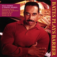 Leon Bates | Solo Works of Samuel Barber