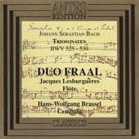 Duo Fraal | J.S Bach : Trio-Sonatas for Flute and Harpsichord