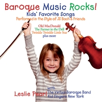 Leslie Pearl | Baroque Music Rocks!