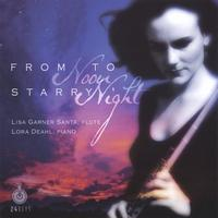 Lisa Garner Santa, flute | From Noon to Starry Night