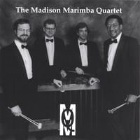 Madison Marimba Quartet 1995 | Geoff Brady   Tim Gruber   Jim Latimer   Tom Shaver