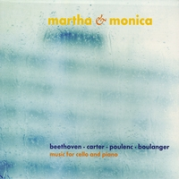 Martha & Monica | Music For Cello and Piano