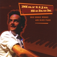Martijn Schok | Solo Boogie Woogie And Blues Piano