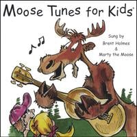 Brent Holmes & Marty the Moose |