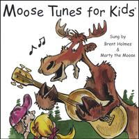 Brent Holmes & Marty the Moose