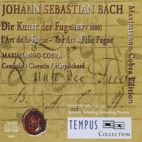 Maximianno Cobra | J.S. Bach: The Art of Fugue BWV 1080