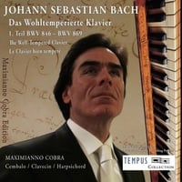Maximianno Cobra | J.S. Bach: The Well-Tempered Clavier Book 1 - BWV 846-893
