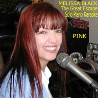 Melissa Black | The Great Escape (Solo Piano Karaoke) [In the Style of Pink]