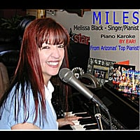 Melissa Black | Miles (Solo Piano Karaoke) [Christina Perri Version]