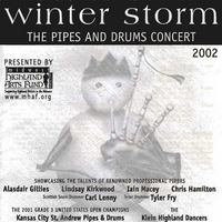 Various Artists | Midwest Highland Arts Fund: Winter Storm  The Pipes and Drums Concert