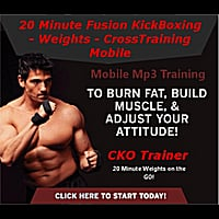 Michael Andreula | 20 minute Fusion KickBoxing-Weights-CrossTraining: