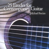 Michael Bocian | 25 Etudes for Contemporary Guitar