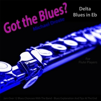 Michael Droste | Got the Blues? Delta Blues in the Key of Eb for Flute Players