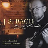 Michael Zaretsky | J.S.Bach the six cello suites performed on viola