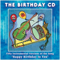 Mike Hughes | The Birthday Music CD