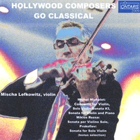 Mischa Lefkowitz | hollywood composers go classical