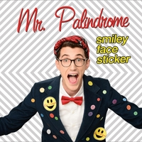 Mr. Palindrome | Smiley Face Sticker