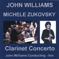 John Williams - Michele Zukovsky | Clarinet Concerto - John Williams Conducting
