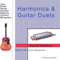 David Naiditch | Harmonica & Guitar Duets