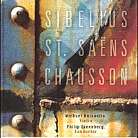 National Symphony Orchestra of Ukraine, Michael Antonello, Violin & Philip Greenberg, Conductor | Sibelius, St. Saens, Chausson