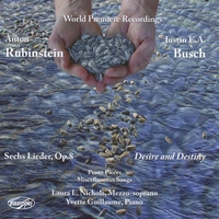 Laura L. Nichols/Yvette Guillaume | Music of Anton Rubinstein and Justin E.A. Busch