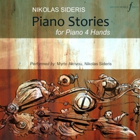 Nikolas Sideris & Myrto Akrivou | Piano Stories for Piano 4 Hands