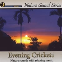 Nature Sound Series | Evening Crickets (With Relaxing Music)