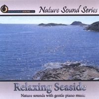 Nature Sound Series | Relaxing Seaside (With relaxing gentle piano music)