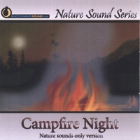 Nature Sound Series | Campfire Night (Nature sounds only version)